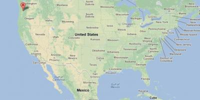 Karte Usa.Portland Karte Karten Portland Oregon Usa